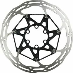 SRAM CenterLine 2-Piece 180mm 6-bolt Rounded Edge Rotor with 6 Steel Rotor $55.95