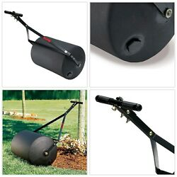 Lawn Roller 18 in. x 24 in. 270 lb Easy to Push Combination Push Tow Poly