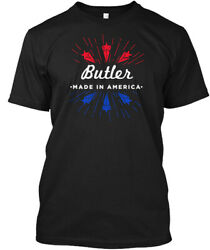 Butler Made In America - Hanes Tagless Tee T-Shirt
