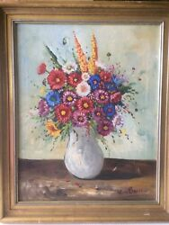 Art Antique Oil Painting Is Signed $1200.00