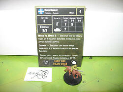 Axis & Allies Early War Greek Cavalry with card 11/50 $5.00