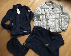 MINT 2018 Winter Olympics Team USA Burton Coaches Jacket + EXTRAS   Shaun White
