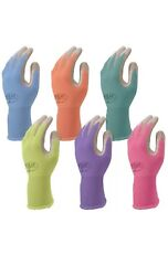 12 Pack Atlas Glove NT 370 Atlas Nitrile Garden Gloves Small Assorted Color New $37.99