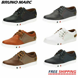 BRUNO MARC Mens Casual Shoes Slip On Lace Up Waking Shoes Fashion Sneakers $25.19