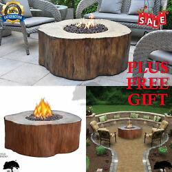 Outdoor Gas Fire Pit Table Patio Deck Backyard Gas Heater Patio Fire Pit Deck
