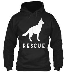 German Shepherd Rescue Adopt She Gildan Hoodie Sweatshirt