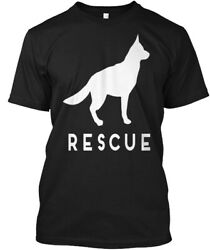 German Shepherd Rescue Adopt She Hanes Tagless Tee T-Shirt