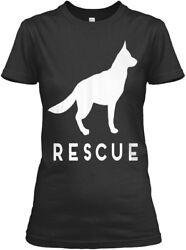 German Shepherd Rescue Adopt She Gildan Women's Tee T-Shirt