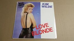 KIM WILDE Love Blonde Can You Hear It 1983 Maxi 12quot; VINYL LP Import Germany $8.16