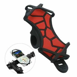 Universal Bicycle Phone Holder For iPhone X Samsung Silicone Mount Phone Stand $19.90