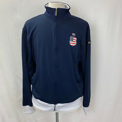 2010 FIFA World Cup Large Jacket South Africa USA Blue