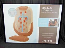HoMedics Total Back Shiatsu Message Cushion with Heat $129.44
