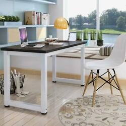 Wood Computer Desk PC Laptop Study Table Workstation Home Office Furniture- 43