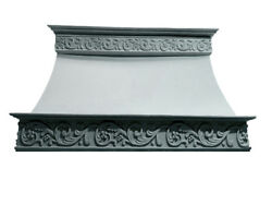Stone Range Hood - Any SizeColor - CAPPED VERONA - Easy Install Samples