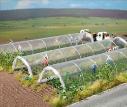 Busch-Walthers HO Commercial Greenhouses (2)