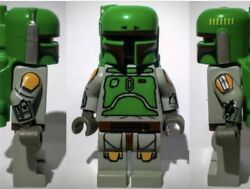 LEGO SW107 Star Wars Cloud City BOBA FETT Villain Bounty Hunter Minifigure