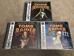 Complete Tomb Raider Collectors' Edition (Sony PlayStation 1 2002)