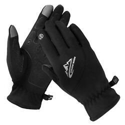 Winter Thin Liner Touch Screen Gloves Men Women Soft Thermal Outdoor Driving Ski $8.97