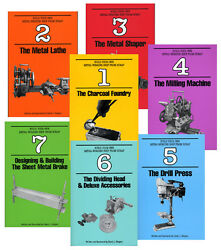 Build Your Own Metal Working Shop from Scrap 7 vols paperback set Gingery $49.95
