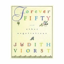 Forever Fifty Hardcover Book by Judith Viorst - Poetry Collection