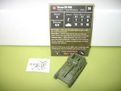 Axis & Allies Counter Offensive Veteran SU-76M with card 24/50 $7.00