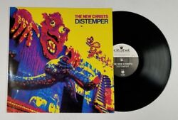 THE NEW CHRISTS Distemper LP Citadel CGAS 807 GER 1989 VG+ ORIG INNER 12H