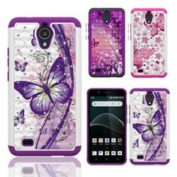 Phone Case for ATamp;T AXIA ATamp;T AXIA Cricket Vision Crystal Cover Case $7.99