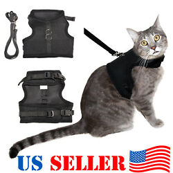 Cat Harness Vest with Leash with Double Strap Escape Proof $15.95