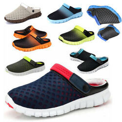 Men Womens Summer Casual Shoes Mesh Breathable Sandal Couples Beach Slippers New $11.17