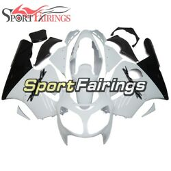 Full Fairings For 2000 2001 Kawasaki ZX12R ABS Injection White Black Bike Covers $435.23