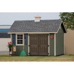She Shed Lady Lounge Woman Cave - Garden Shed - 10 Ft. W x 14 Ft. D USA Made