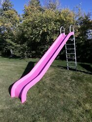 NEW 14 foot playground slide 7 foot deck height NOT metal or plastic or spiral