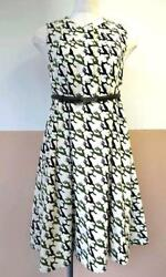 GUCCI dress size36 reindeer pattern wool georgette A state close to unused