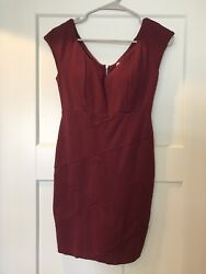Honey amp; Rosie SMALL Burgundy Cocktail Dress Very Good Condition $14.50