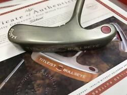 Scotty Cameron BULLSEYE FLANGE TOUR putter 35.75 inches with COA Certificate FS