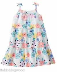 NWT Gymboree Tropical Breeze Floral Dress 18-24m  2T 3T  toddler girls