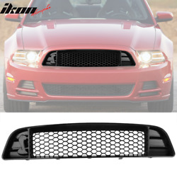 Fits 13 14 Ford Mustang Shelby GT500 Style Upper Grille With Mesh For V6 GT $119.99
