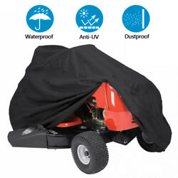 Lawn Mower Tractor Cover UV Resistant Waterproof Garden Outside Yard Riding $11.90