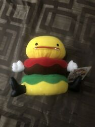 Friends With You Mr TTT Burger Plush 2004 SIGNED by Tury Sam Of Friendswithyou $100.00