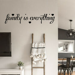 quot;Family is Everythingquot; Wall Sticker Vinyl Art Quote Decal Bedroom Words Love GBP 5.47