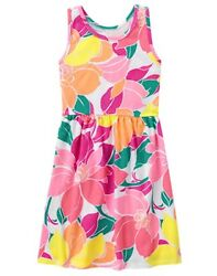 NWT Gymboree Mix N Match Girl Tropical Flower Dress 456781012