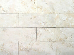 3x8 Jerusalem Stone Honed Finish Limestone Floor and Wall Tile Sold by piece $7.99