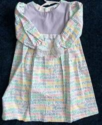 Long Flannel Nightgowns For Little Girls  Size 2  Choice Of Colors  Hand Made