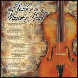 The Touch of the Master's Hand Poem 17x17 Print