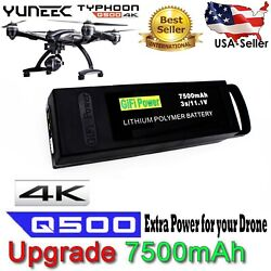 7500mAh Li Po Replacement Battery for YUNEEC Q500 PRO 4K Typhoon Drone $84.88