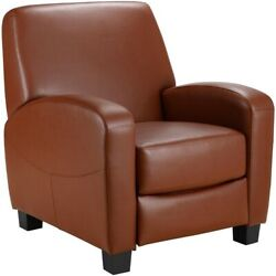Home Theater Recliner Camel Great for Man Cave Living Room or She Shed Furniture