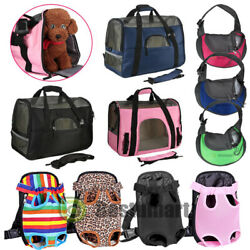 Pet Carrier Soft Sided S L XL Cat Dog Comfort Travel Bag Oxford Airline Approved $3.99