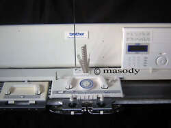 Brother electronic knitting machine kh 970 + kr 850 ribber + krc 900 package