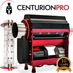 *NEW* Centurion Pro Tabletop Trimmer w 2 Electropolished Tumblers - WET and DRY