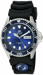 Orient Men#x27;s #x27;Ray II Rubber#x27; Automatic Stainless Steel Diving Watch FAA02008D9 $119.99